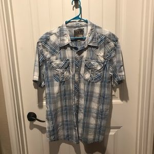 Men's button up up shirt